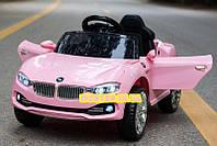 Детский электромобиль BMW БМВ на амортизаторах M 3175EBLR-8 розовый