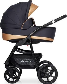 Детская универсальная коляска 2 в 1 Riko Alfa Ecco