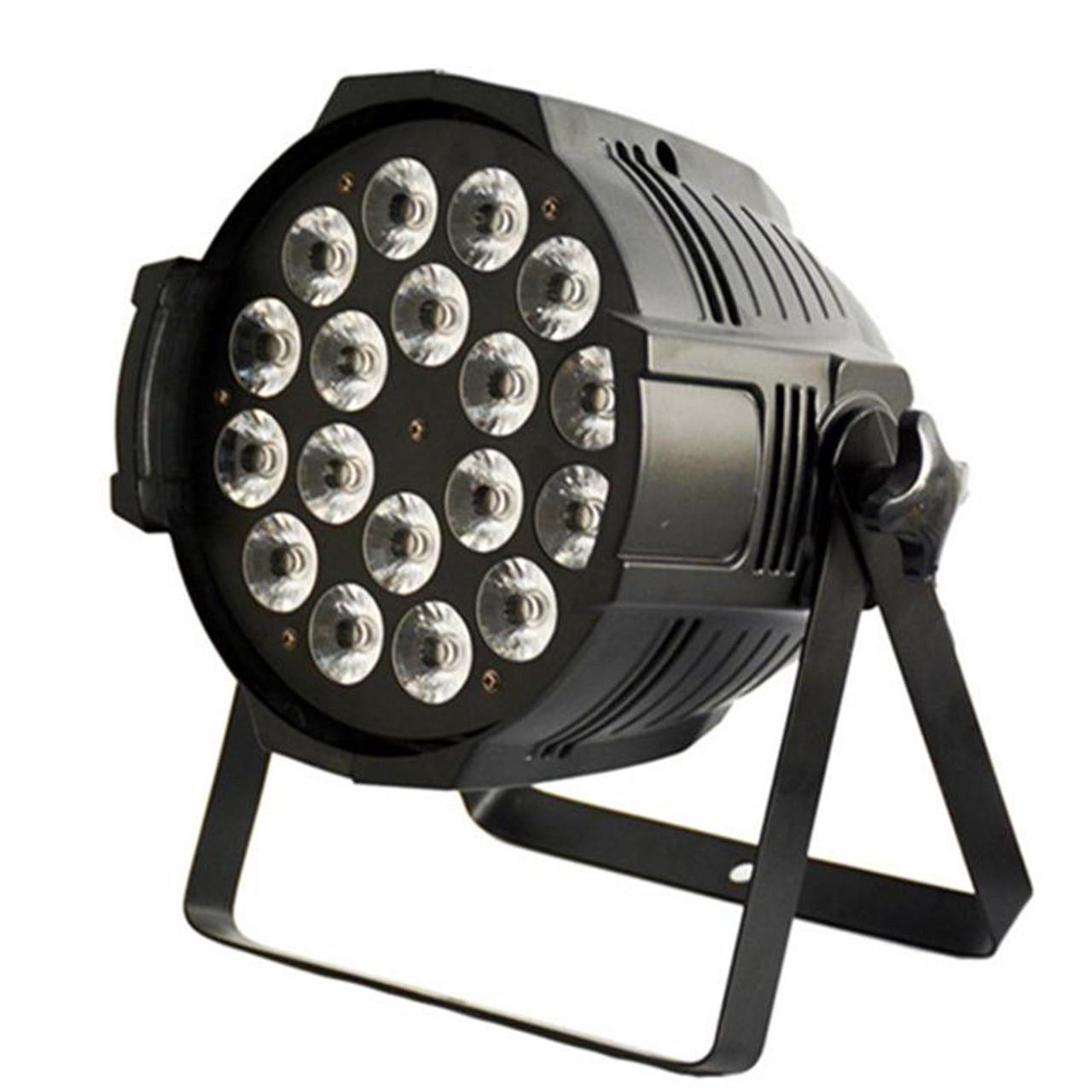Светодиодный прожектор Led Par 18x18 RGBAW+UV DMX с ультрафиолетовым светом