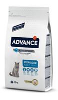 Корм ADVANCE (Эдванс) Cat Sterilized для стерилизованных котов с индейкой на развес, 1 кг