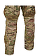 Штани тактичні армійські камуфляж мультикам COMBAT CHIMERA наколениками Mil-Tec Німеччина, фото 7
