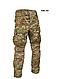 Штани тактичні армійські камуфляж мультикам COMBAT CHIMERA наколениками Mil-Tec Німеччина, фото 9