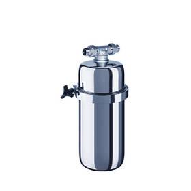 Корпус фільтра Аквафор Вікінг Міді для очищення води з нержавіючої сталі