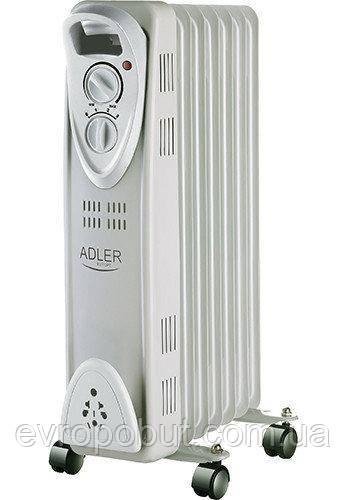 Обогреватель маслянный Adler AD 7807 на 7 секций мощность 1500w