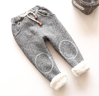 Теплые детские штаны 110, 120, фото 1