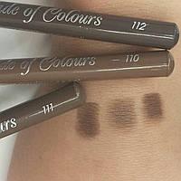 Пудровый карандаш для бровей Cascade of Colours 110, фото 1