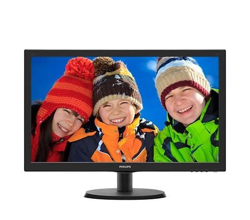 """Монитор Philips 21.5"""" 223V5LHSB2/01 Black; 1920 x 1080, 200 кд/м2, 5 мс, HDMI, D-Sub"""