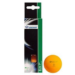Donic Elite 1* (carton box 3 шт) 40 мм orange