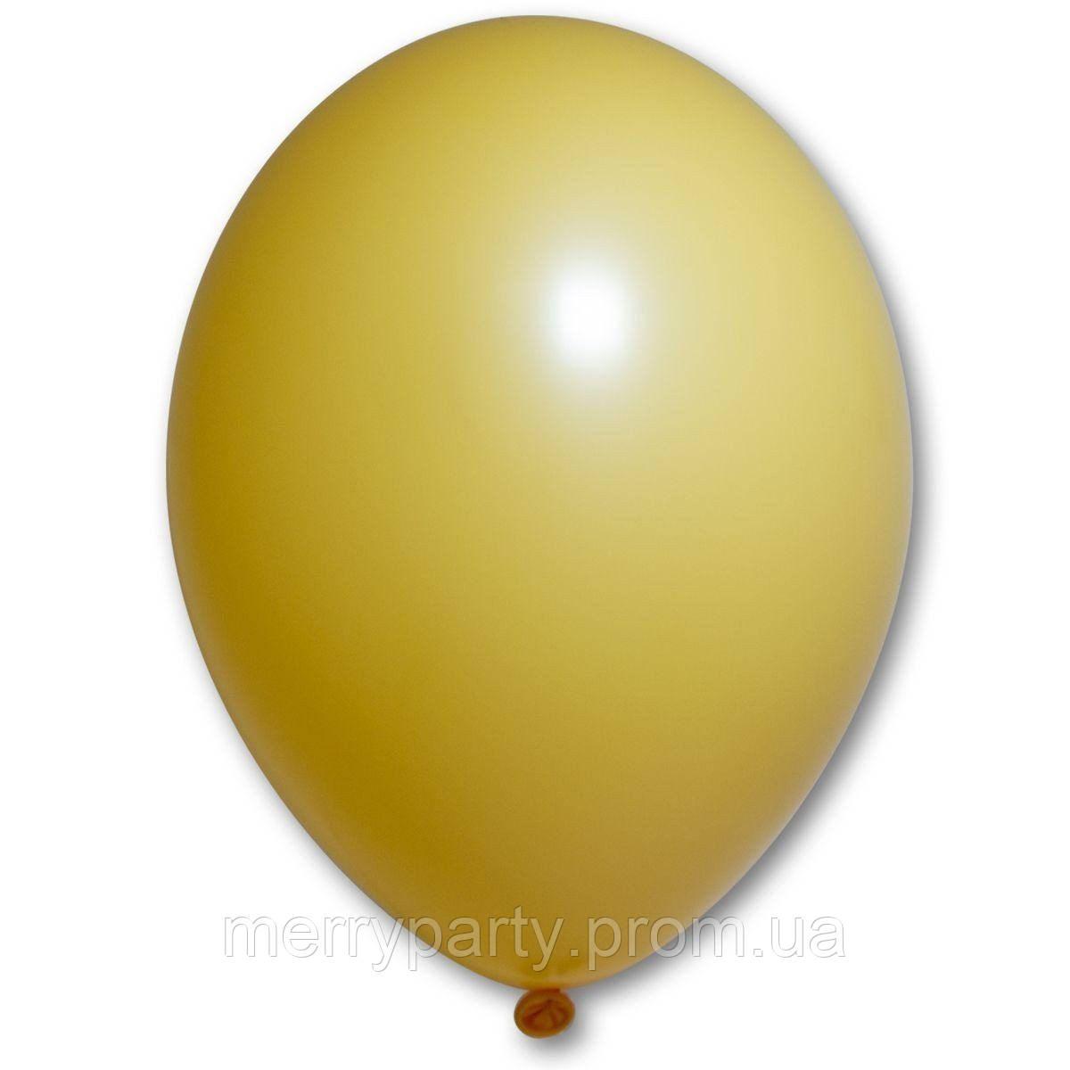 """10"""" (25 см) пастель охра 85/015 Belbal Бельгия латексный шар"""