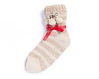 Теплые носки с помпонами (размер 35-39 в расцветках)