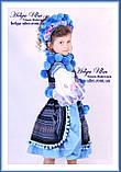 """Український стрій """"МарциПані"""" для дівчинки (+відео) 146, фото 2"""