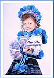 """Український стрій """"МарциПані"""" для дівчинки (+відео) 146, фото 4"""