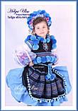 """Український стрій """"МарциПані"""" для дівчинки (+відео) 146, фото 5"""