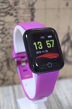 Смарт-годинник ID116 Plus (D13) з вимірюванням тиску – фіолетовий