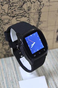Розумні смарт-годинник Smart Watch M26 чорний блютуз з'єднання
