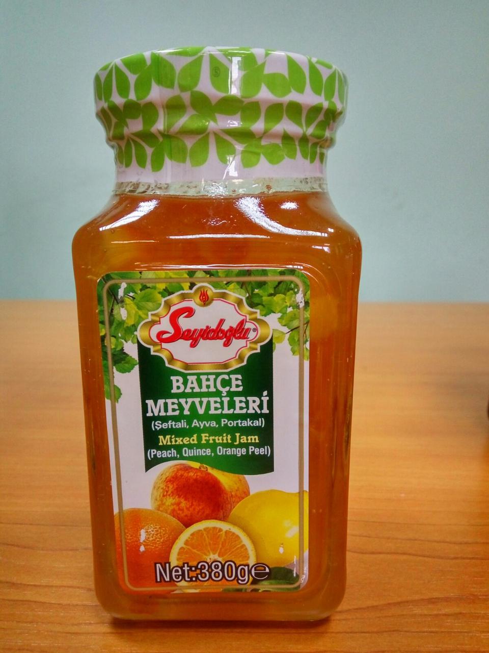 Варенье фруктовый микс, 380 г ТМ Seyidoglu