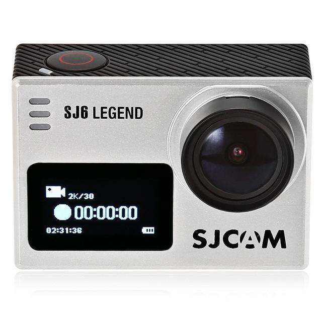 Экшн-камера SJCAM SJ6 Legend Silver  .ОРИГИНАЛ