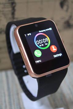 Розумні смарт-годинник Smart Watch GT08 чорні в золоті sim