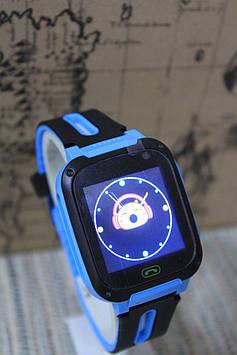 Дитячі смарт-годинник V5 Q9 з камерою блакитні