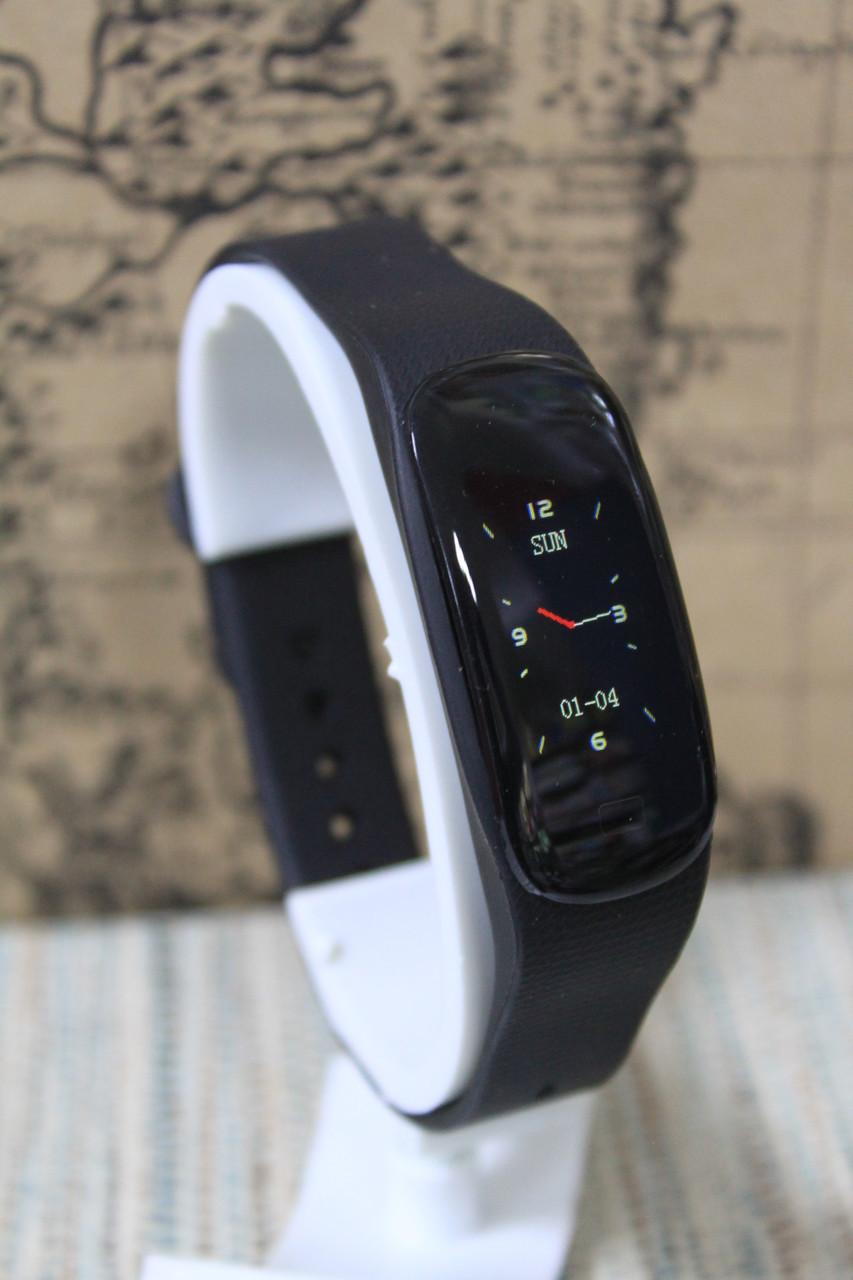 Умный фитнес браслет Smart M5 + водонепроницаемый черный