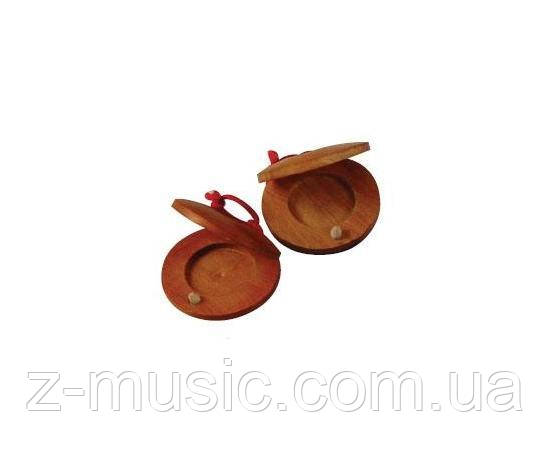 Кастаньеты деревянные (пара)