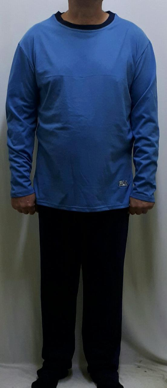 Пижама мужская хлопковая со штанами 607, фото 1