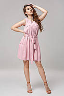 Женское платье-безрукавка Lipar Розовое