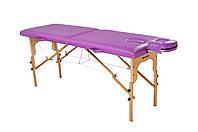 Стол для массажа складной из натурального дерева 80 см