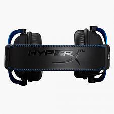 Гарнитура Kingston HyperX Cloud Gaming Headset for PS4 Black/Blue (HX-HSCLS-BL/EM), фото 3