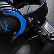 Гарнитура Kingston HyperX Cloud Gaming Headset for PS4 Black/Blue (HX-HSCLS-BL/EM), фото 2
