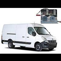 Электропривод сдвижной двери для микроавтобусов двомоторный Германия BOSCH Renault Master