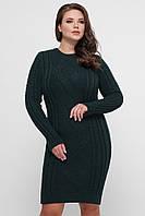 Платье орнамент зеленое, фото 1