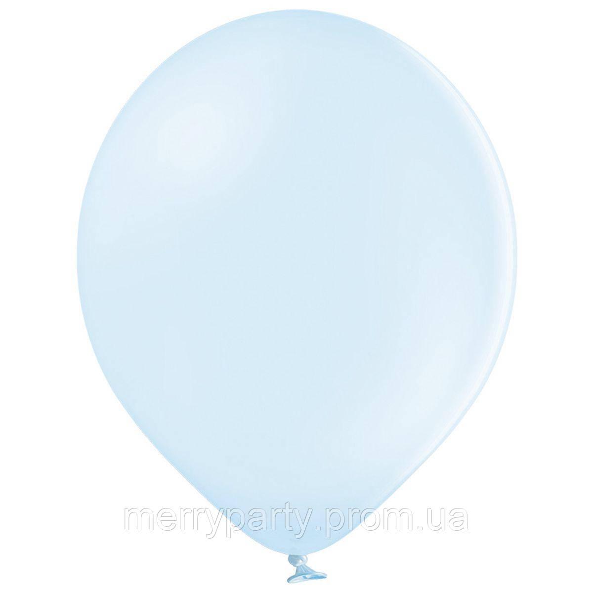 """10"""" (26 см) пастель голубой Macaron 85/449 Belbal Бельгия латексный шар"""