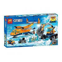 """Конструктор LELE Cities """"Арктический грузовой самолёт"""" 28021, 743 деталей"""
