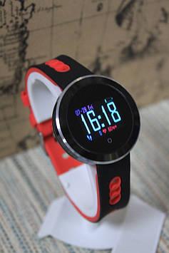 Ексклюзивні розумні годинник Smart Watch Q8 Pro спортивні чорно-червоні