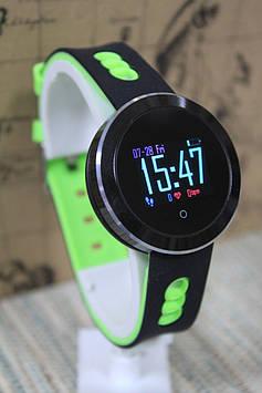 Ексклюзивні розумні годинник Smart Watch Q8 Pro спортивні чорно - зелені