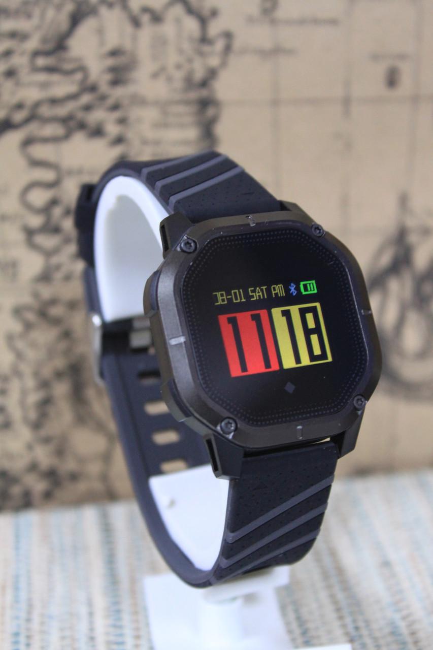 Эксклюзивные умные часы Smart Watch  K5 водонепроницаемый IP68 черный