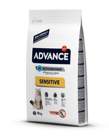 Корм для кошек ADVANCE (Эдванс) Cat Salmon Sensitive чувствительное пищеварение лосось, 10 кг