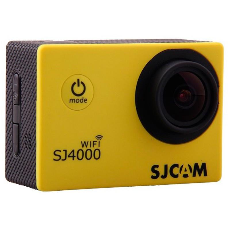 Екшн-камера SJCAM SJ4000 WiFi v2.0 Yellow .Оригінал