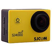 Екшн-камера SJCAM SJ4000 WiFi v2.0 Yellow .Оригінал, фото 1
