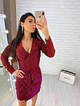 Женское платье из мерцающего люрекса ( 2 цвета), фото 3