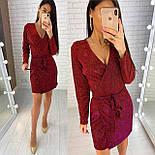Женское платье из мерцающего люрекса ( 2 цвета), фото 5