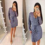 Женское платье из мерцающего люрекса ( 2 цвета), фото 4