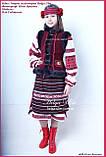 """Український національний костюм """"Вечорниці"""" для дівчинки 140, фото 4"""