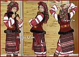 """Український національний костюм """"Вечорниці"""" для дівчинки 140, фото 9"""