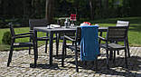 Набір садових меблів Keter Torino Dining Set ( Allibert by Keter ), фото 5
