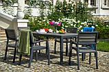 Набір садових меблів Keter Torino Dining Set ( Allibert by Keter ), фото 9