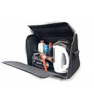 Органайзер сумка в багажник ворсовая 400х300х280 с замочками на липучке, фото 1