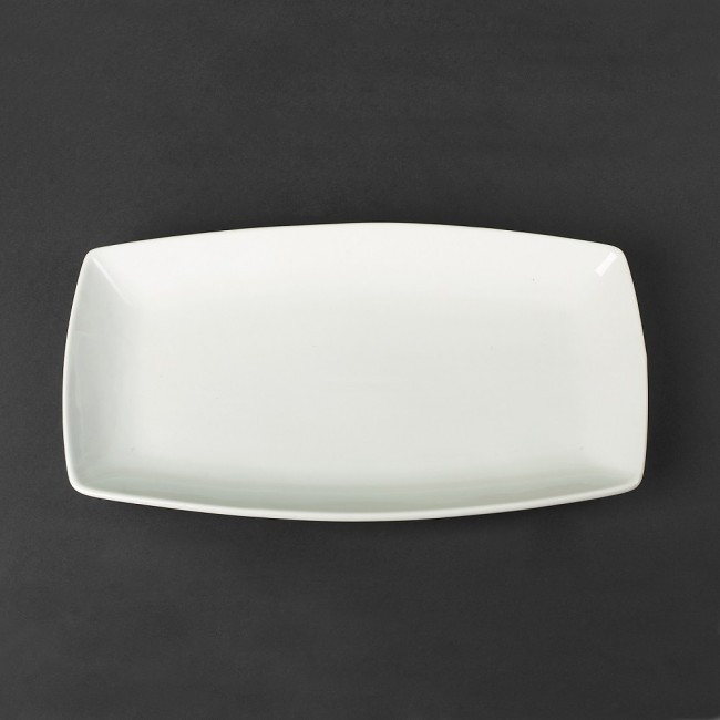 Блюдо фарфоровое прямоугольное  350*200мм