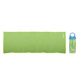 Холодное полотенце 30x90см Romix зелёное